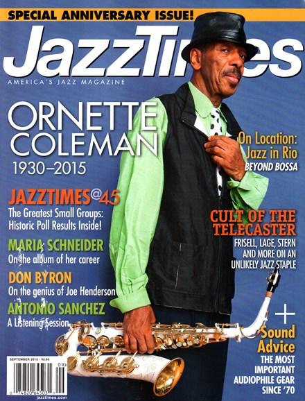 JazzTimes Cover - 9/1/2015