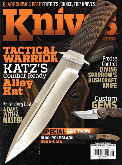 Knives Illustrated Cover - 9/1/2015