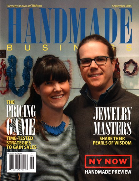 Handmade Business Cover - 9/1/2015