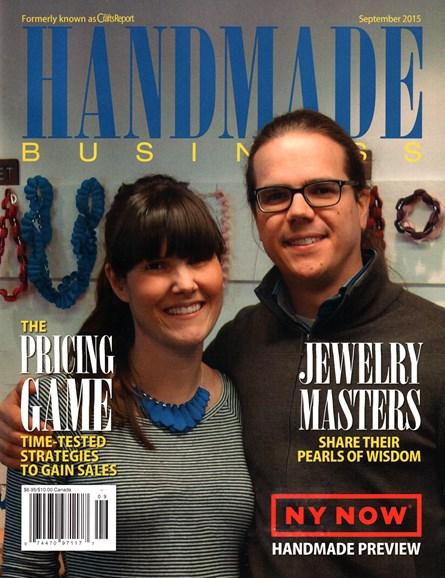 Handmade Business Cover - 9/1/2015