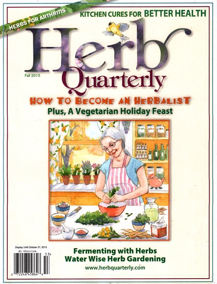 Herb Quarterly Cover - 9/1/2015
