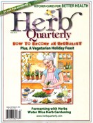 Herb Quarterly Magazine 9/1/2015