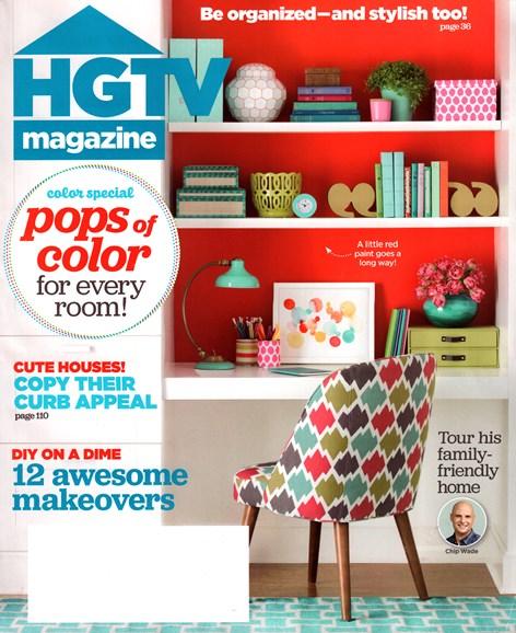 HGTV Cover - 9/1/2015