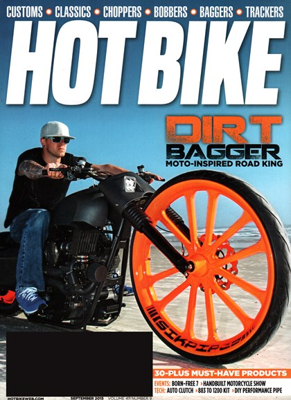 Hot Bike Cover - 9/1/2015