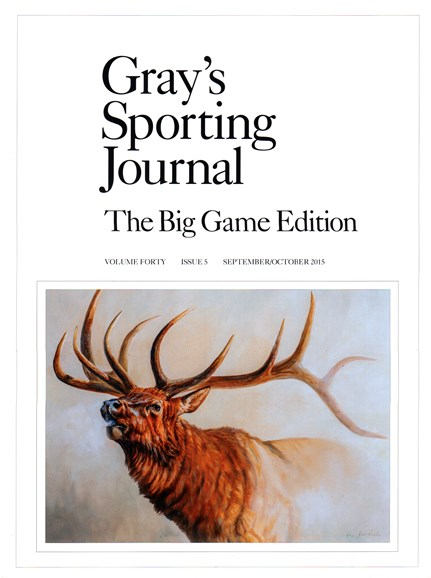 Gray's Sporting Journal Cover - 9/1/2015