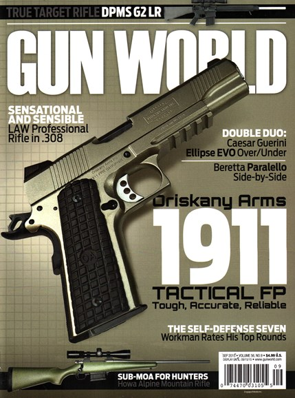 Gun World Cover - 9/1/2015