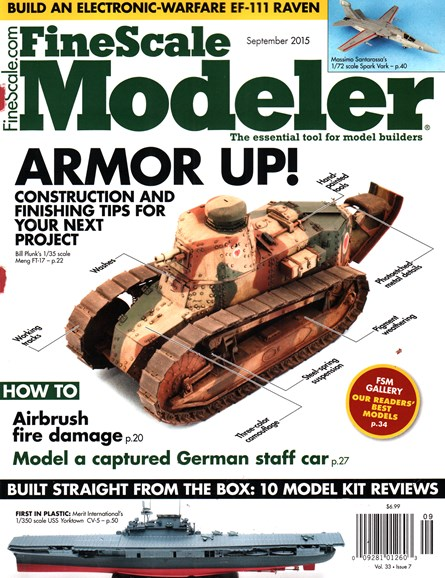 Finescale Modeler Cover - 9/1/2015