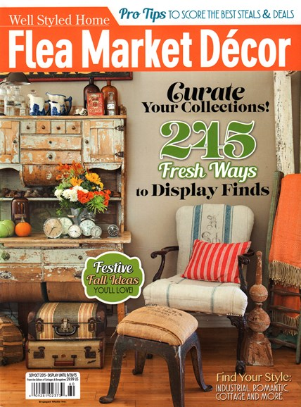 Flea Market Décor Cover - 9/1/2015