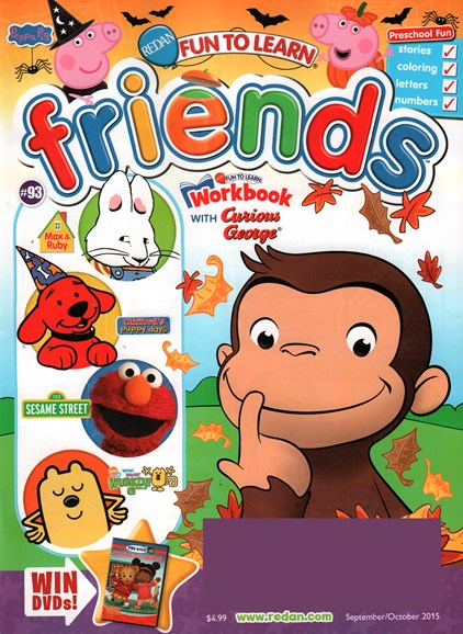 Preschool Friends Cover - 9/1/2015