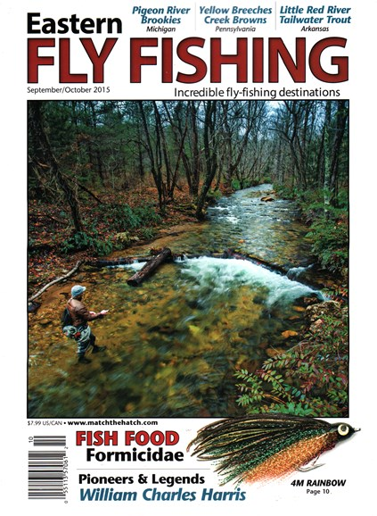 Eastern Fly Fishing Cover - 9/1/2015