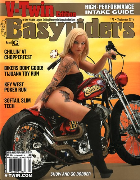 Easyriders Cover - 9/1/2015