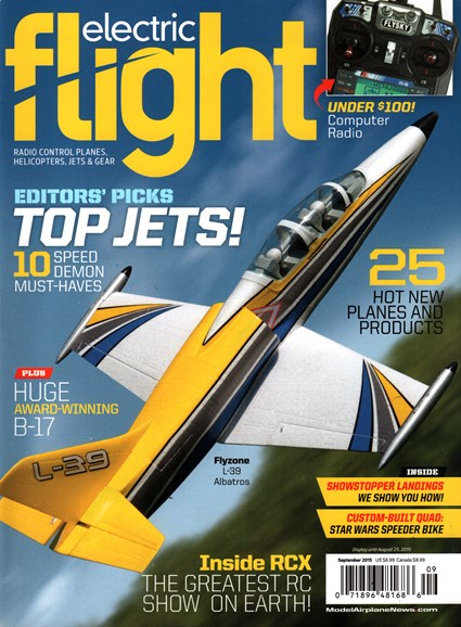 Electric Flight Cover - 9/1/2015