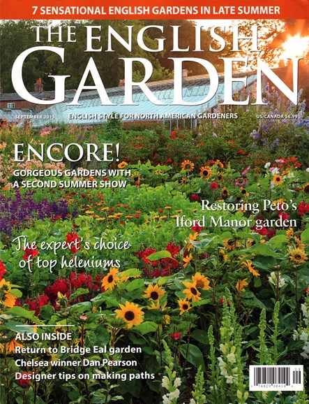 The English Garden Cover - 9/1/2015