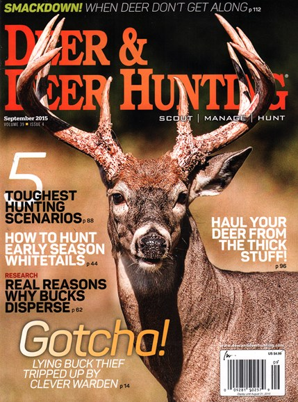 Deer & Deer Hunting Cover - 9/1/2015