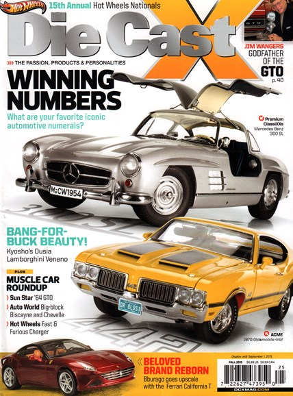 Diecast X Cover - 9/1/2015
