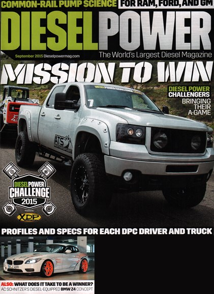 Diesel Power Cover - 9/1/2015
