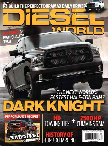 Diesel World Cover - 9/1/2015