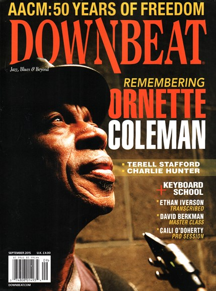 DownBeat Cover - 9/1/2015