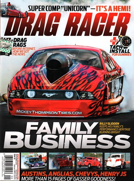 Drag Racer Cover - 9/1/2015
