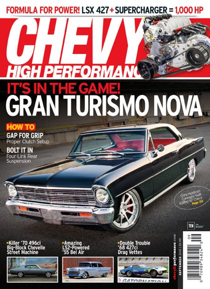 Chevy High Performance Cover - 9/1/2015