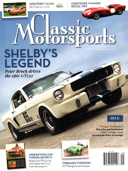 Classic Motorsports Cover - 9/1/2015