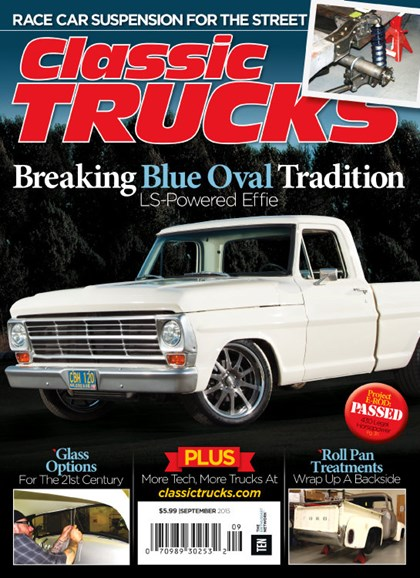 Classic Trucks Cover - 9/1/2015