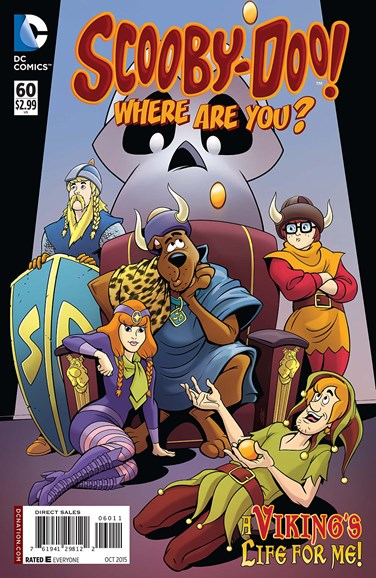 Scooby Doo, Where Are You? Cover - 10/1/2015
