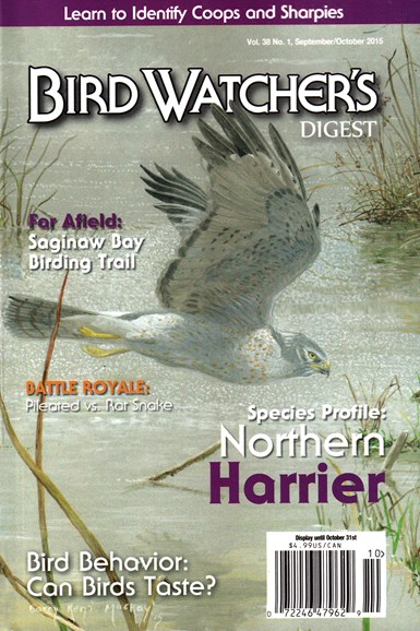 Bird Watcher's Digest Cover - 9/1/2015