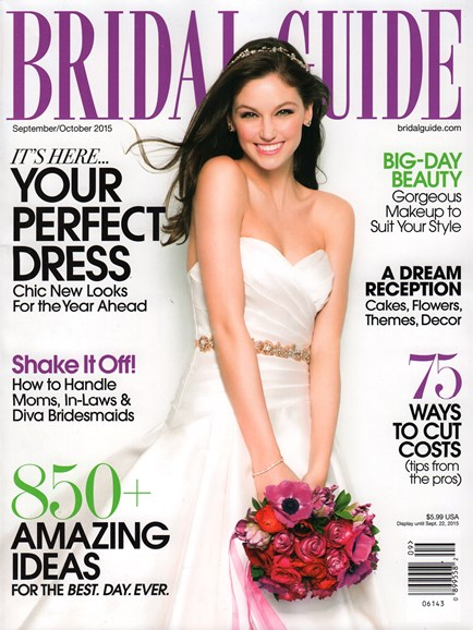 Bridal Guide Cover - 9/1/2015