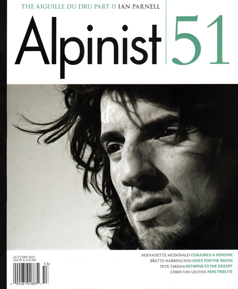 Alpinist Cover - 9/1/2015