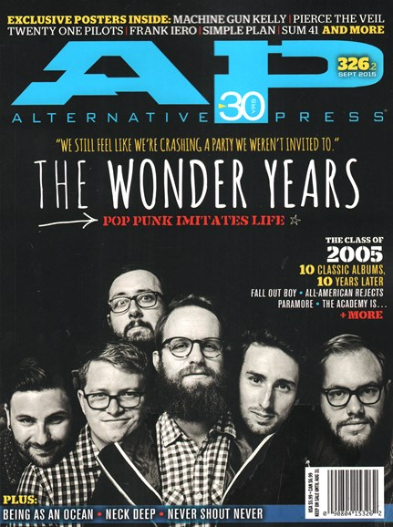 Alternative Press Cover - 9/1/2015
