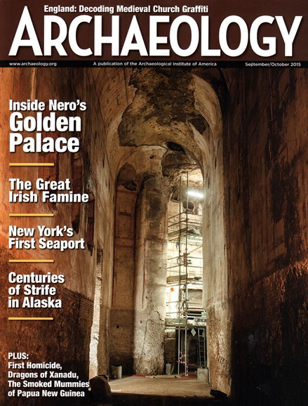 Archaeology Cover - 9/1/2015