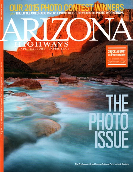 Arizona Highways Cover - 9/1/2015