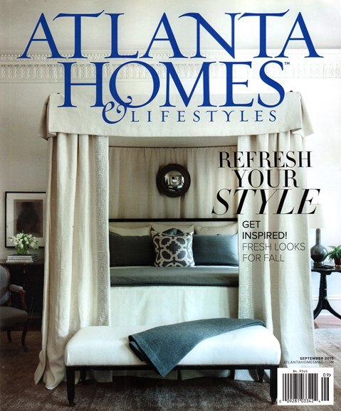Atlanta Homes & Lifestyles Cover - 9/1/2015