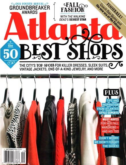 Atlanta Magazine Cover - 9/1/2015