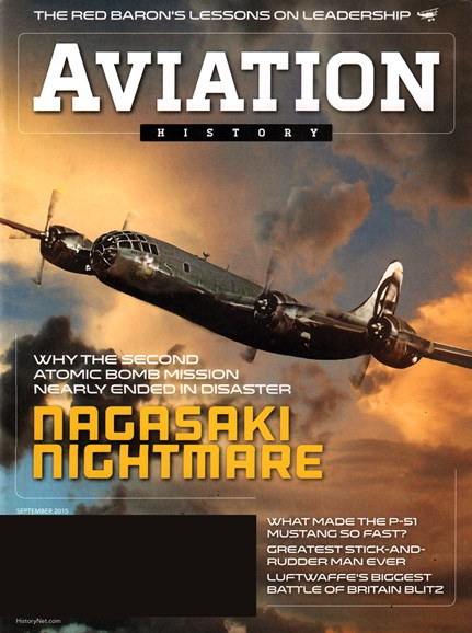 Aviation History Cover - 9/1/2015