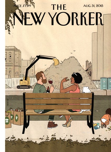 The New Yorker Cover - 8/31/2015