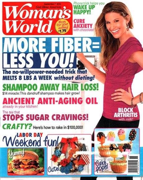 Woman's World Cover - 9/7/2015