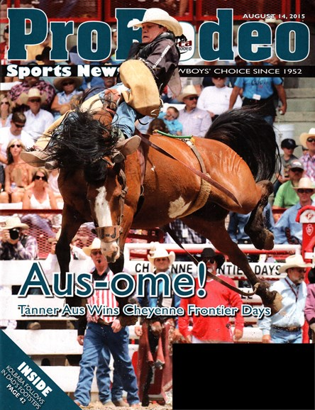 Pro Rodeo Sports News Cover - 8/14/2015
