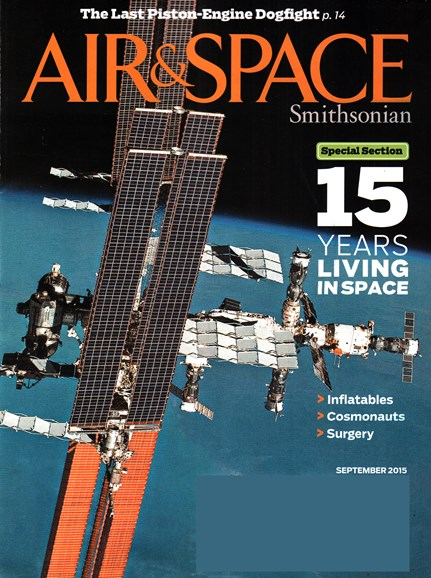 Air & Space Cover - 9/1/2015