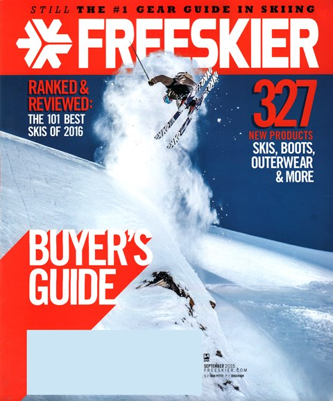 Freeskier Cover - 9/1/2015