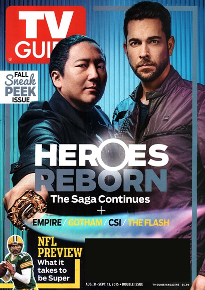 TV Guide Cover - 8/31/2015