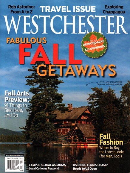 Westchester Magazine Cover - 9/1/2015