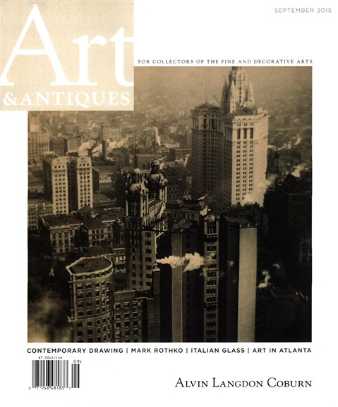 Art & Antiques Cover - 9/1/2015