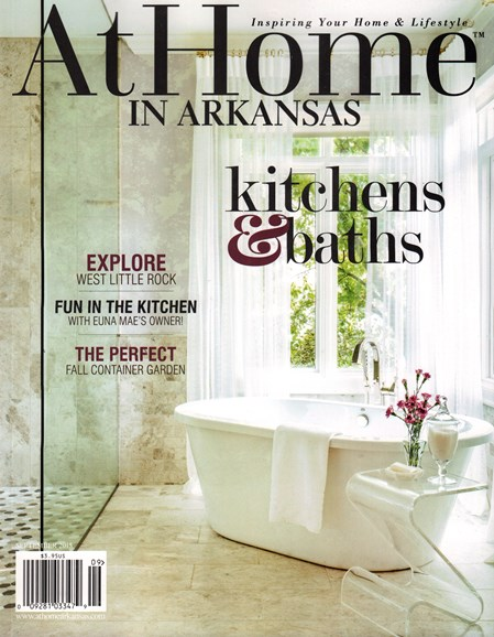 At Home In Arkansas Cover - 9/1/2015