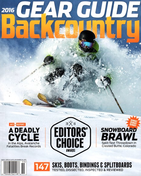 Backcountry Cover - 9/1/2015