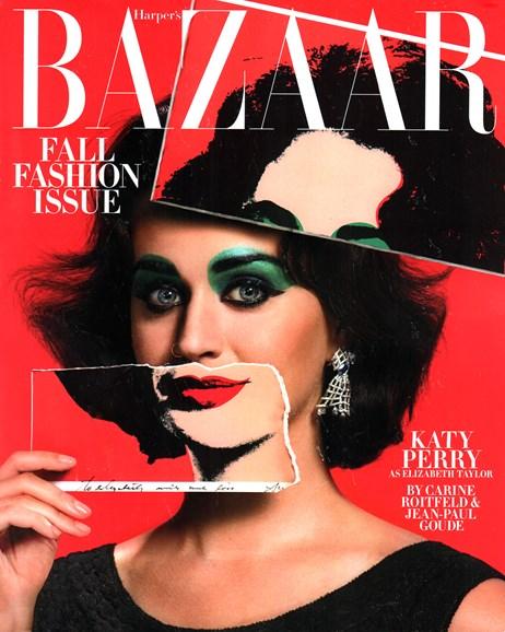 Harper's Bazaar Cover - 9/1/2015