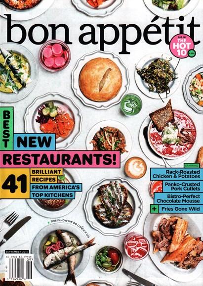 Bon Appétit Cover - 9/1/2015