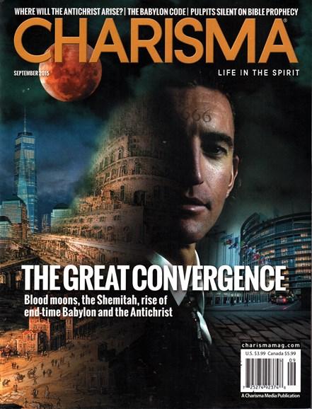 Charisma Cover - 9/1/2015