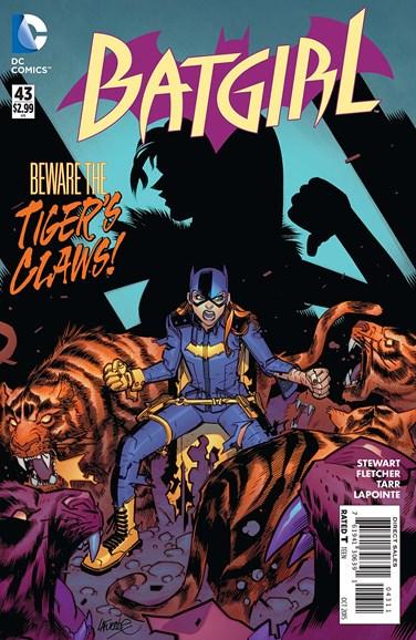 Batgirl Cover - 10/1/2015